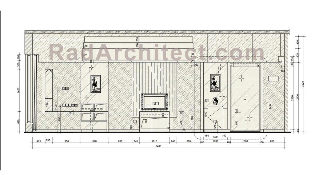 فایل اتوکد مبلمان طراحی داخلی