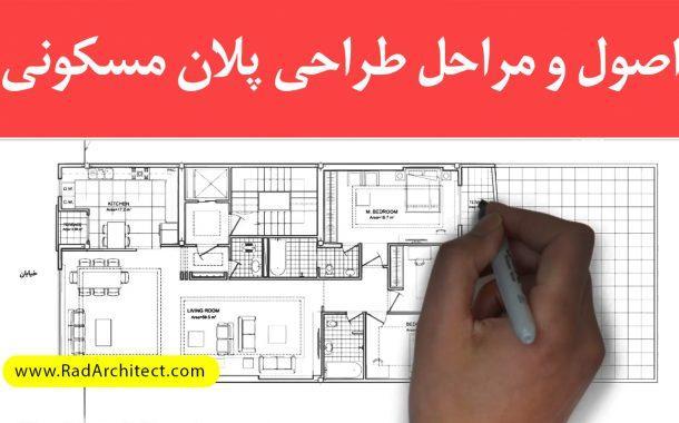 چگونه پلان ساختمان مسکونی را طراحی کنیم؟