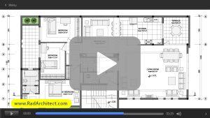 طراحی و ترسیم نقشه های معماری