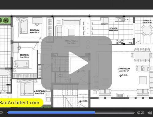 ۷ نوع خط برای طراحی و ترسیم نقشههای معماری
