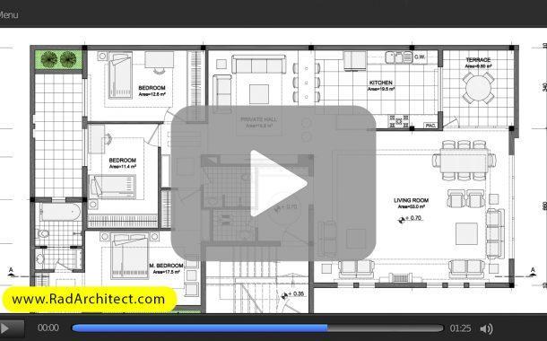 7 نوع خط برای طراحی و ترسیم نقشههای معماری