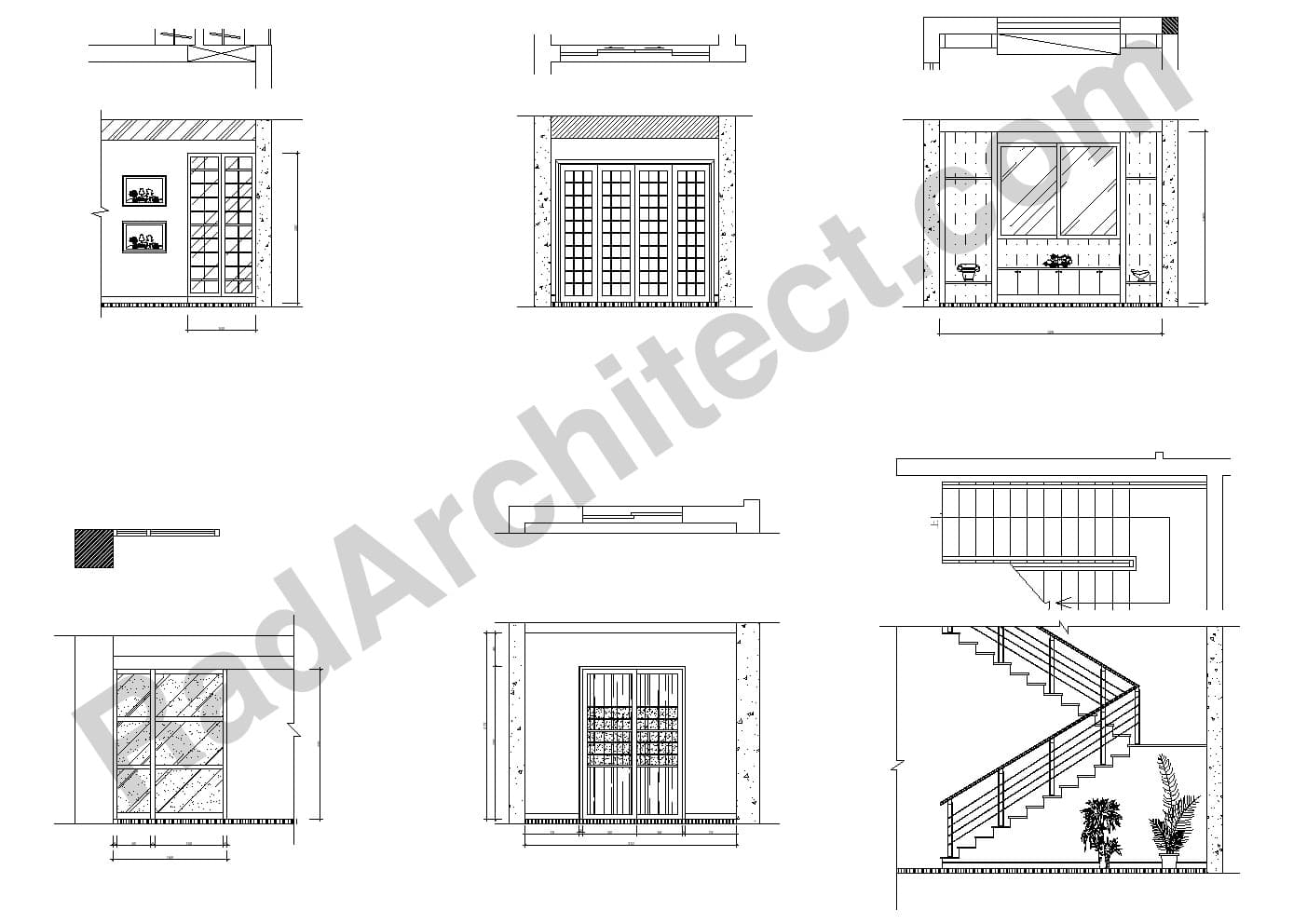 بلوک مبلمان طراحی داخلی